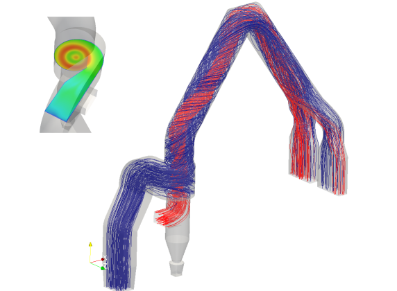 CFD-Engineering Drallerzeuger