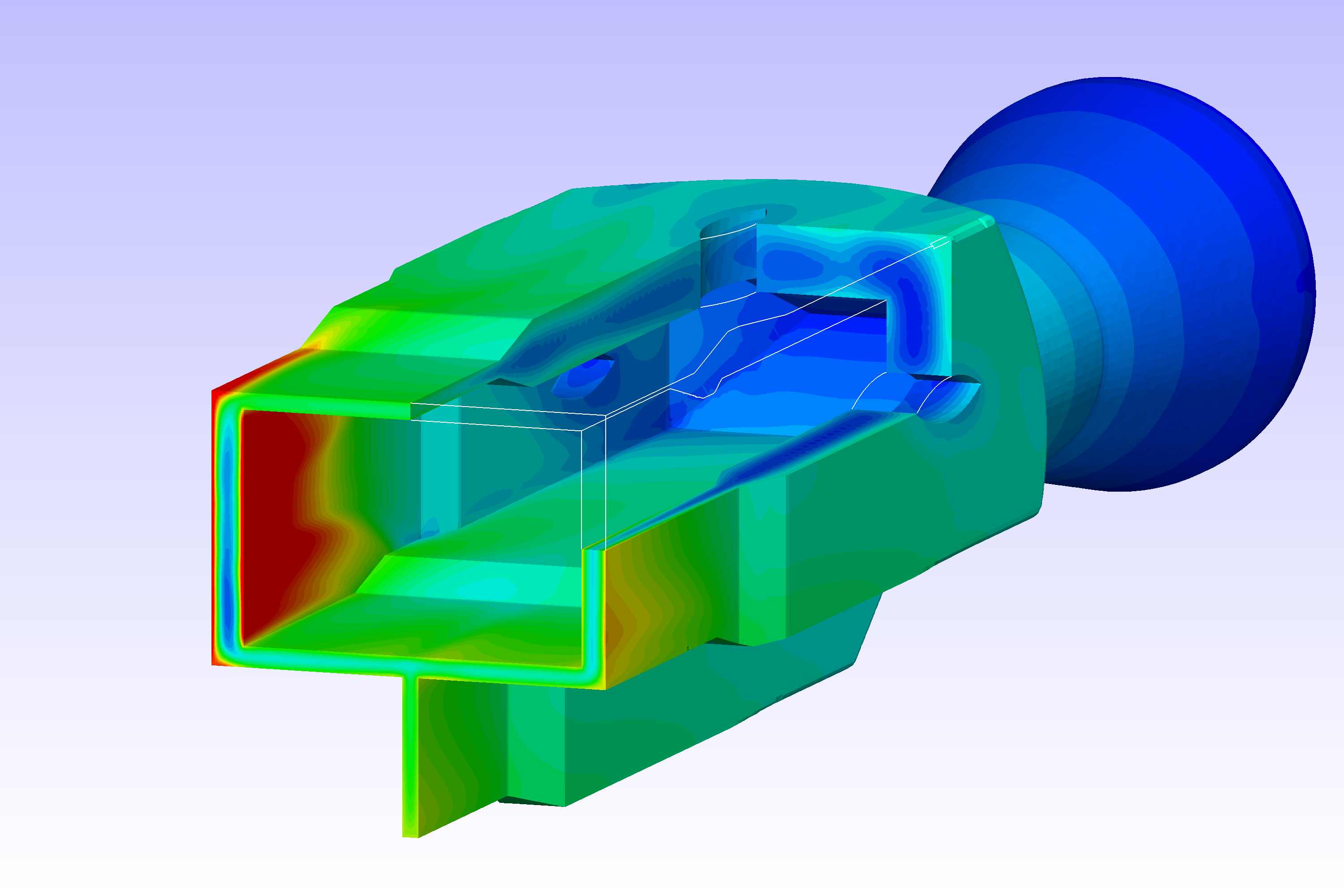 Viscous heating solver for OpenFOAM